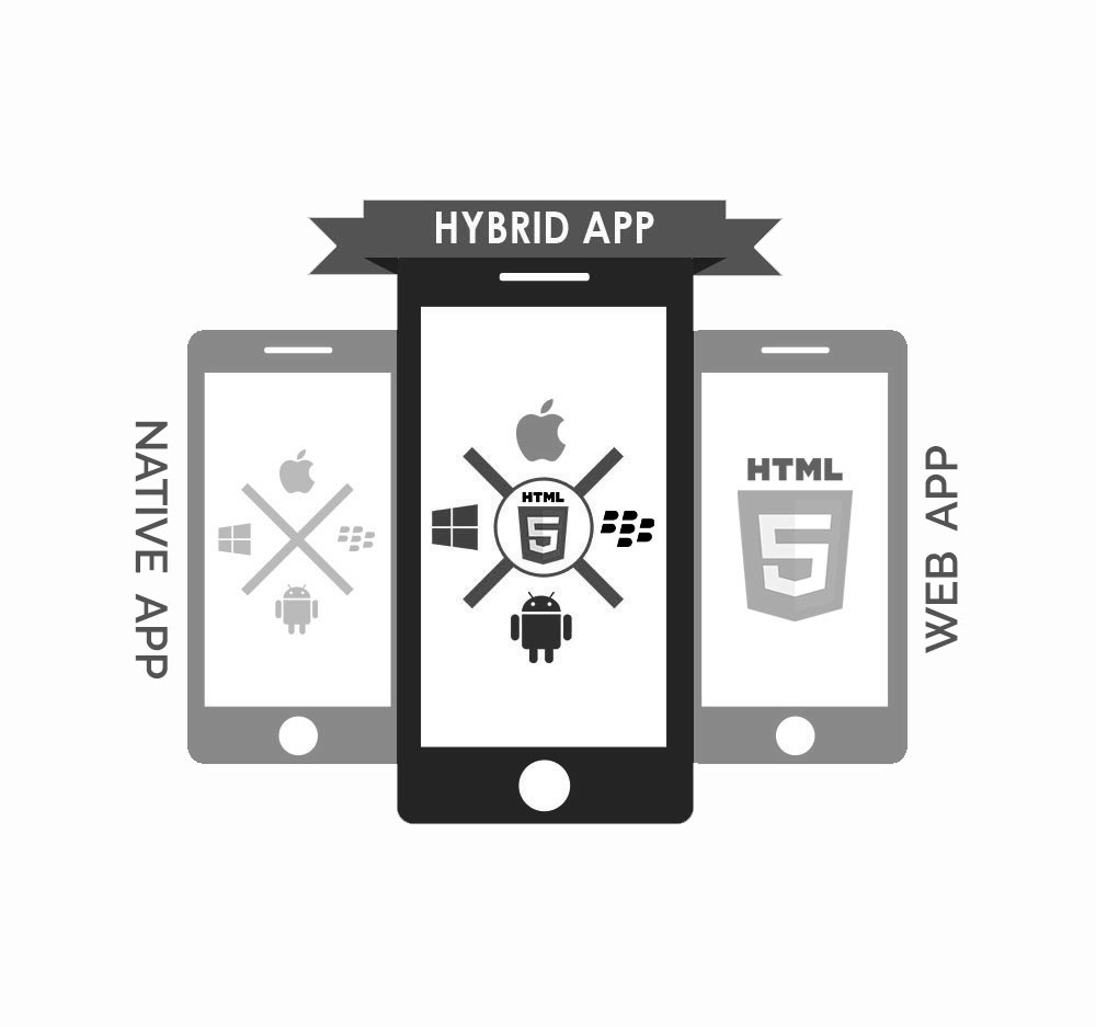 Hybrid mobile app development services